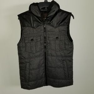 TWCE Vest With  Detached able Hoodie Size Small